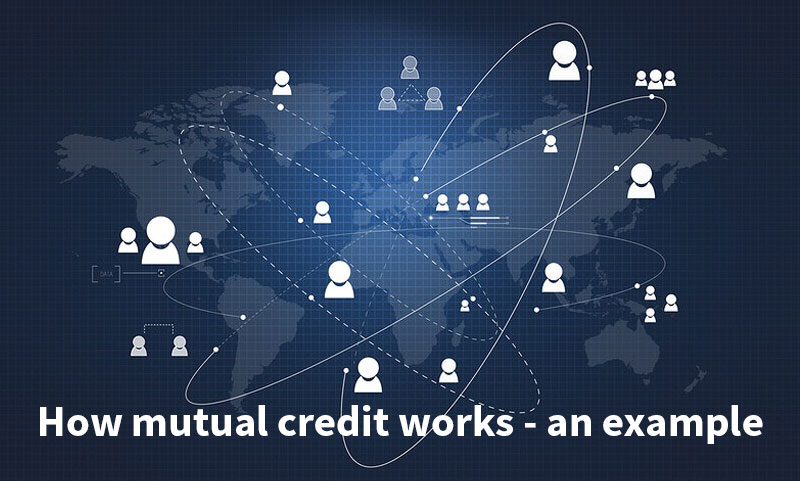 how mutual credit works example