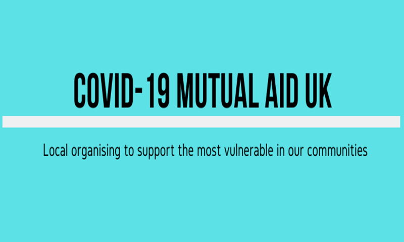 Logo of Covid-19 Mutual Aid UK